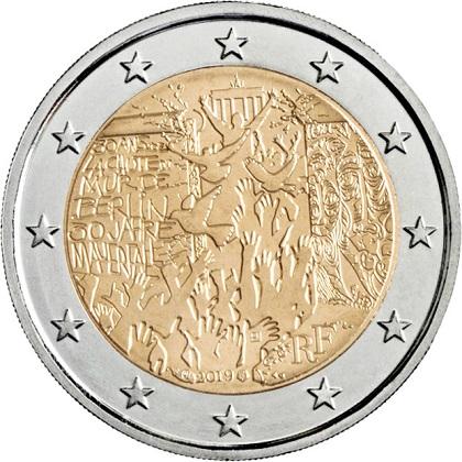 Piece 2 Euro Commemorative France