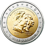 2 euros commemorative 2005 luxembourg