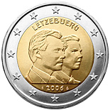 2 EUROS COMMEMORATIVE LUXEMBOURG 2006