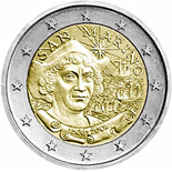 2 EUROS COMMEMORATIVE SAN MARINO 2006