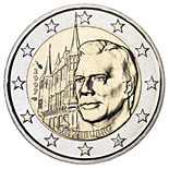 2 EUROS COMMEMORATIVE LUXEMBOURG 2007