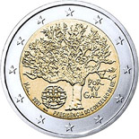 2 EUROS COMMEMORATIVE PORTUGAL 2007