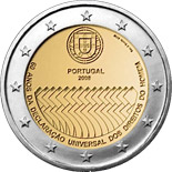 2 EUROS COMMEMORATIVE PORTUGAL 2008