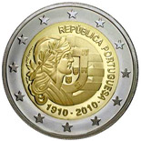 2 EUROS COMMEMORATIVE PORTUGAL 2010