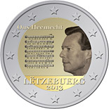 2 EUROS COMMEMORATIVE LUXEMBOURG 2013
