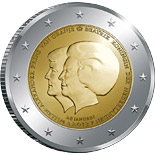 2 EUROS COMMEMORATIVE PAYS-BAS 2013