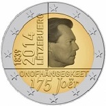 2 euros 2014 commemorative luxembourg