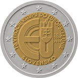 2 euros 2014 slovaquie commemorative