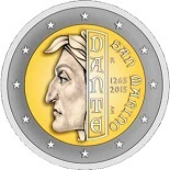 2 euros 2015 saint-marin commémorative Dante
