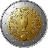 2 euiropsq 2016 france commemorative UEFA euro 2016