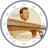 2 euros 2016 luxembourg pont grande duchesse charlotte