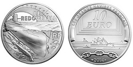 10 euros argent 2014 le redoutable